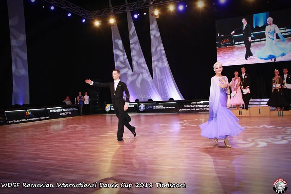 1st place International Open Standard Timisoara